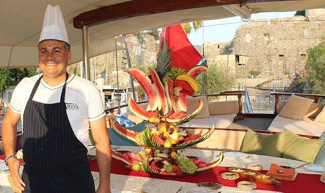 Kulinarischer und Gourmet Yachtcharter