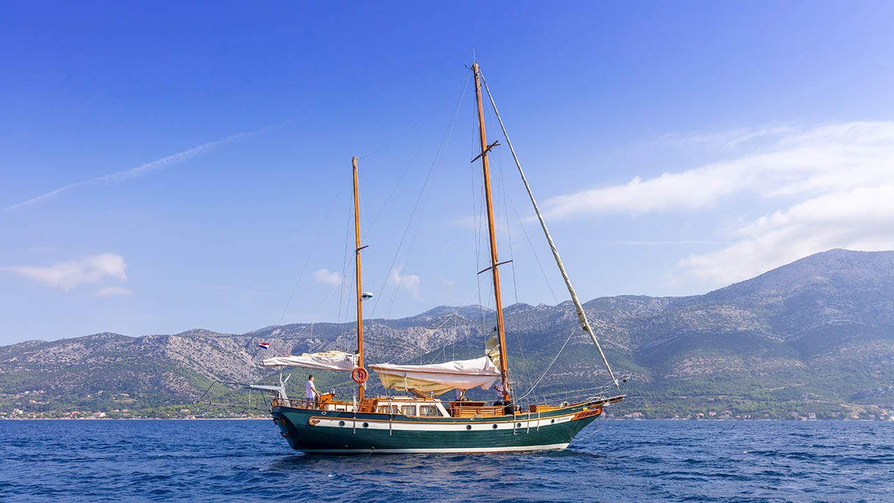 Segelyacht  Providenca