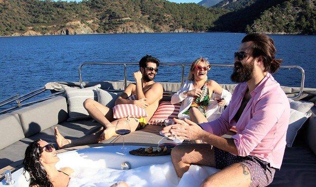 Leben auf einer Yacht