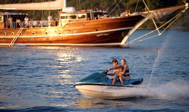 Wassersport auf Kreuzfahrten
