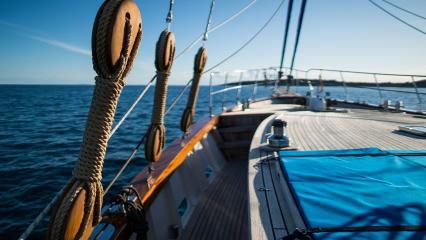 Segelyacht Luopan