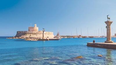 Bodrum nach griechische Inseln (Süd Dodekanes)