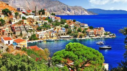 Marmaris nach Symi und Rhodos
