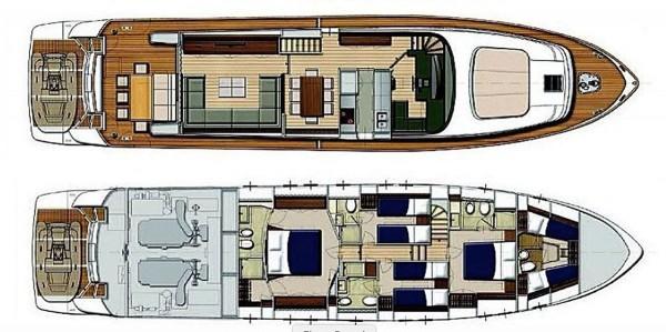 Motoryacht Barbarossa Moratti