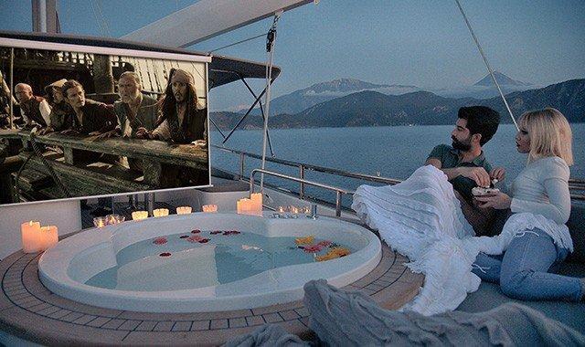 Unterhaltungsmöglichkeiten auf der Yacht